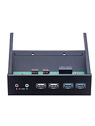 Недорогие -Unestech Корпус жесткого диска USB-концентратор / Многофункциональный / Аудио Алюминий 7075 / Нержавеющая сталь / Алюминиево-магниевый сплав USB 3.0 / USB 2.0 ST1160
