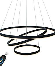 Недорогие -UMEI™ Круглый Люстры и лампы Рассеянное освещение Окрашенные отделки Алюминий Акрил Творчество, Регулируется, Диммируемая 110-120Вольт / 220-240Вольт / FCC