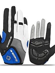 Недорогие -INBIKE Спортивные перчатки Перчатки для велосипедистов / Перчатки для сенсорного экрана Сохраняет тепло / Пригодно для носки / Нескользящий Полный палец Нейлоновое волокно