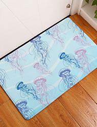 baratos -Os tapetes da área Forma Geométrica Flanela, Rectângular Qualidade superior Tapete