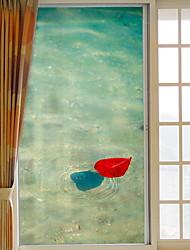 cheap -Window Film & Stickers Decoration Contemporary Simple PVC(PolyVinyl Chloride) Window Sticker