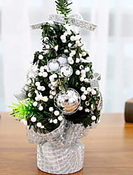cheap -Christmas Trees Floral Theme / Holiday Wooden Cube Wooden Christmas Decoration