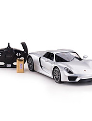 cheap -RC Car Rastar 70740 4CH Infrared Car 1:14 8.2 km/h KM/H USB / LED Light / Remote-Controlled
