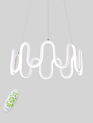 cheap -CONTRACTED LED Novelty Chandelier Ambient Light - Adjustable, Dimmable, New Design, 110-120V / 220-240V, Warm White / Cold White / Dimmable With Remote Control, LED Light Source Included