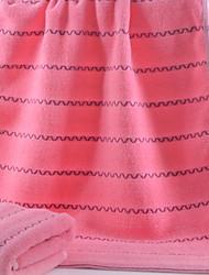 cheap -Superior Quality Sport Towel, Lines / Waves 100% Cotton Bathroom 1 pcs