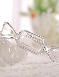 Недорогие -Oval Shape пластик Фавор держатель с Комбинация материалов Коробочки - 12шт