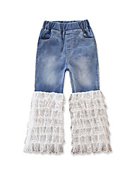 cheap -Toddler Girls' Solid Colored Jeans