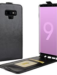preiswerte -Hülle Für Samsung Galaxy Note 9 / Note 8 Kreditkartenfächer / Flipbare Hülle / Magnetisch Ganzkörper-Gehäuse Solide Hart PU-Leder für Note 9 / Note 8