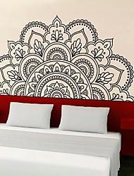 Недорогие -Декоративные наклейки на стены - 3D наклейки Геометрия / Цветы Гостиная / Спальня