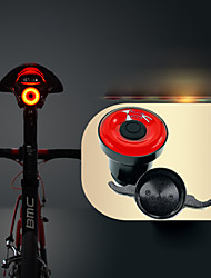 abordables -Luz Trasera para Bicicleta / Luz Trasera LED Ciclismo Impermeable, Invisible, Ligero Li-ion 50 lm Alimentado por USB Rojo Ciclismo