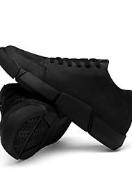 billige -Herre Komfort Sko Kanvas Vinter Afslappet Sneakers Sort