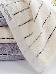 baratos -Qualidade superior Toalha de Lavar, Linhas / Ondas 100% algodão Banheiro 1 pcs