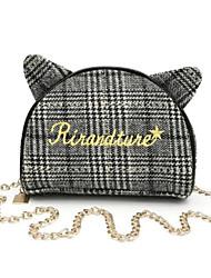 cheap -Women's Bags PU(Polyurethane) Mobile Phone Bag Zipper Black / Brown