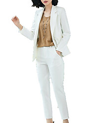 cheap -Women's Basic Suits-Solid Colored