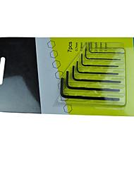 billige -minimalistisk stil Stål Fastgørelsesmidler 7 pcs
