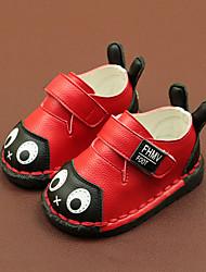 Недорогие -Мальчики / Девочки Обувь Микроволокно Весна & осень Обувь для малышей Кеды На липучках для Дети Белый / Желтый / Красный