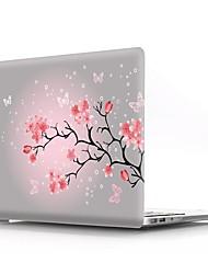 Недорогие -MacBook Кейс Цветы пластик для MacBook Pro, 13 дюймов / MacBook Air, 11 дюймов / MacBook Pro, 13 дюймов с дисплеем Retina