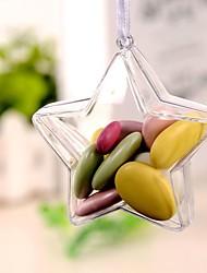 baratos -Irregular Plástico Suportes para Lembrancinhas com Combinação Caixas de Ofertas - 12pcs