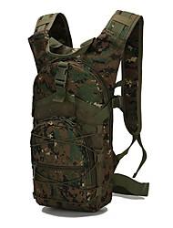 Недорогие -15 L Рюкзаки - Дожденепроницаемый, Пригодно для носки На открытом воздухе Пешеходный туризм, Походы, Армия Оксфорд Военно-зеленный, Зеленый, Камуфляжный