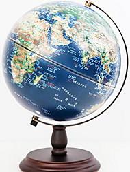 Недорогие -Мировые Глобусы Пластик / деревянный Классический Круглые Для дома