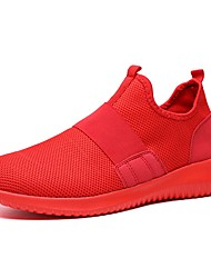 abordables -Homme Maille / Matière synthétique Automne hiver Confort / Semelles Légères Chaussures d'Athlétisme Tennis / Athlétisme Gris / Rouge / Noir / blanc