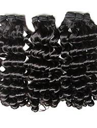 Недорогие -Необработанные / Не подвергавшиеся окрашиванию плетение волос Для темнокожих женщин / 100% девственница / Необработанные Бразильские волосы 45 см 0.08kg Более года Подарок / Wear to work / Школа