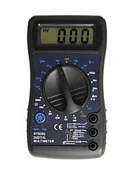 Недорогие -dt820c lcd портативный цифровой мультиметр, используемый для дома и автомобиля