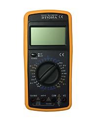 Недорогие -dt9205ace lcd портативный цифровой мультиметр, используемый для дома и автомобиля