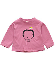 cheap -Kids Girls' Solid Colored Long Sleeve Sweater & Cardigan