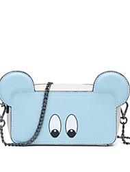 cheap -Women's Bags PU(Polyurethane) Mobile Phone Bag Zipper Blue / Blushing Pink / Dark Blue