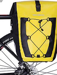 Недорогие -ROCKBROS 27 L Сумка на багажник велосипеда Отражение Большая вместимость Водонепроницаемость Велосумка/бардачок ТПУ Велосумка/бардачок Велосумка Шоссейный велосипед Верховая езда Путешествия