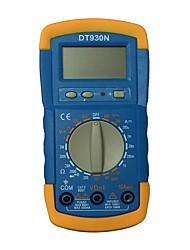 Недорогие -Портативный цифровой мультиметр dt930n lcd для дома и автомобиля