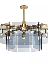 baratos -QINGMING® 8-luz Mini Lustres Luz Descendente - Estilo Mini, 110-120V / 220-240V Lâmpada Não Incluída