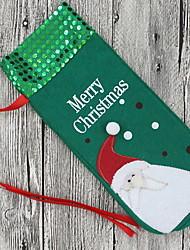 baratos -Sacos e Transportadores de Vinho Natal / Férias Não-Tecelado Novidades Decoração de Natal