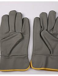 Недорогие -12 пар Кожа Перчатка Защитные перчатки Защита Безопасность и защита Противоскользящий Износостойкий Защита от пыли