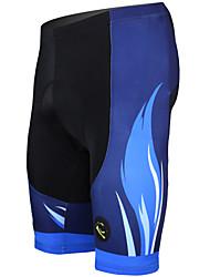 Недорогие -ILPALADINO Муж. Велошорты с подкладкой Велоспорт Шорты / Шорты с защитой / Нижняя часть 3D-панель, Быстровысыхающий, Ультрафиолетовая