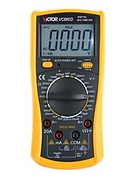 Недорогие -victor vc890c + цифровой мультиметр, измеритель температуры постоянного тока постоянного тока, токовый вольтметр