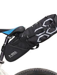 Недорогие -B-SOUL 12 L Сумка на бока багажника велосипеда Большая вместимость Дожденепроницаемый Многофункциональный Велосумка/бардачок ПВХ 600D Ripstop Велосумка/бардачок Велосумка Велосипедный спорт