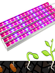 cheap -30W 270-300lm Growing Strip Lights Tube 75 LED Beads SMD 5730 Decorative Blue Red 85-265V