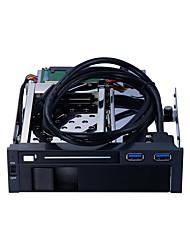 Недорогие -Unestech Корпус жесткого диска Совместимость с HDD / Автоматическое конфигурирование / Многофункциональный Нержавеющая сталь / Алюминиево-магниевый сплав USB 3.0 ST7221U