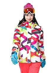 Недорогие -GSOU SNOW Жен. Лыжная куртка Лыжные очки, Лыжи, Зимние виды спорта Катание на лыжах / Зимние виды спорта Полиэфир Верхняя часть Одежда для катания на лыжах