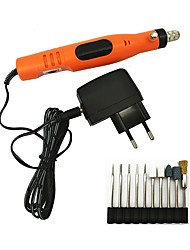 Недорогие -Бытовая перезаряжаемая рука, держащая мини-электрическую дрель электрическая шлифовальная машина с иглой