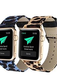 Недорогие -Ремешок для часов для Apple Watch Series 4/3/2/1 Apple Кожаный ремешок Натуральная кожа Повязка на запястье