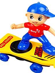 Недорогие -Игрушечные машинки Транспорт Очаровательный Мягкие пластиковые Полипропилен + ABS Дети Детские Мальчики Девочки Игрушки Подарок