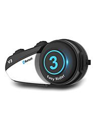 Недорогие -V3 Bluetooth 4.0 Гарнитуры Bluetooth Висячий стиль уха Bluetooth / MP3 / Многоязычный домофон Мотоцикл