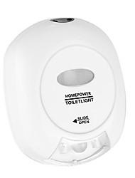 Недорогие -1шт Туалетный свет Красный / Зеленый Аккумуляторы AA Датчик человеческого тела 5 V