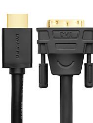 baratos -UGREEN HDMI 2.0 Cabo / Adaptador, HDMI 2.0 para HDMI 2.0 / DVI Cabo / Adaptador Macho-Macho 4K*2K 2.0m (6,5 pés)