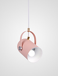 cheap -CONTRACTED LED Cylinder Pendant Light Downlight - Mini Style, Cute, Creative, 110-120V / 220-240V Bulb Not Included