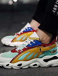 cheap -Men's Running Shoes / Sneakers Rubber Walking / Running / Jogging Lightweight, Cushioning, Ultra Light (UL) Net Yellow / Grey / Blue / Black