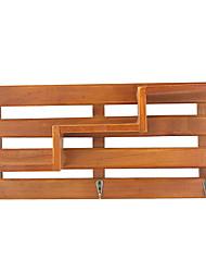 cheap -Places Wall Decor Wooden Pastoral Wall Art, Wall Shelves & Ledges Decoration